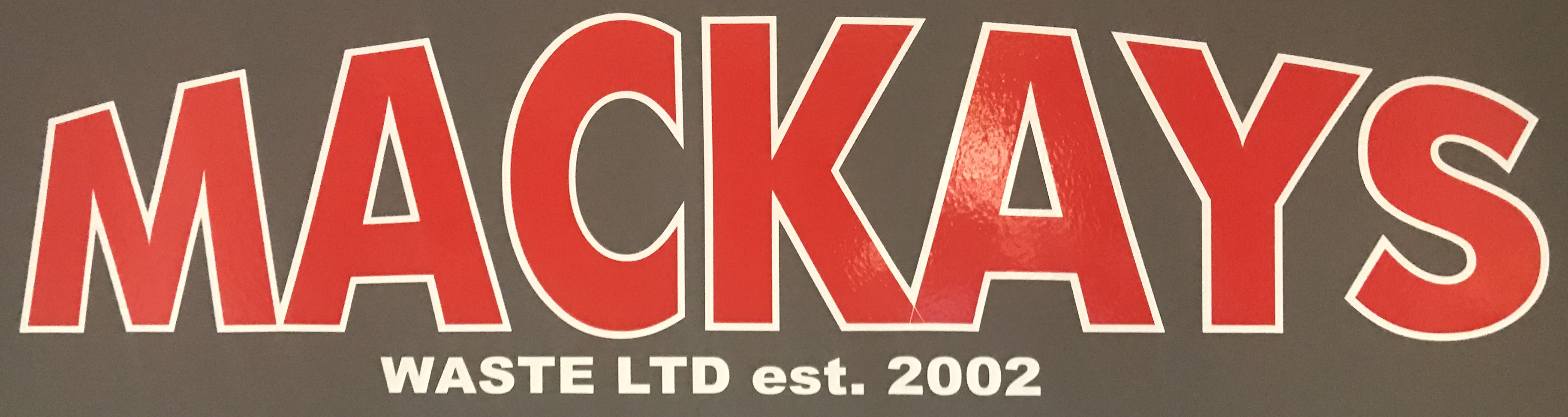 Mackays Waste Ltd Logo